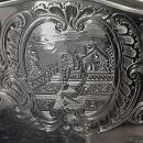 Robert Garrard Antique Silver Salver, London 1830 .