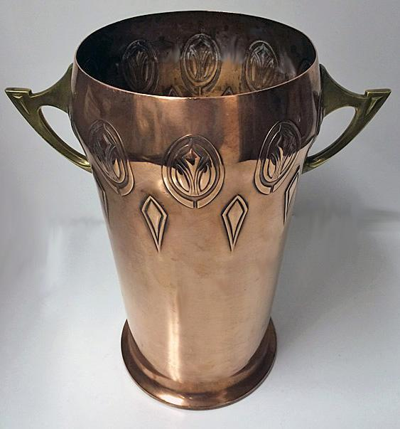 W.M.F Art Nouveau Jugendstil Wine Cooler, Germany C.1900