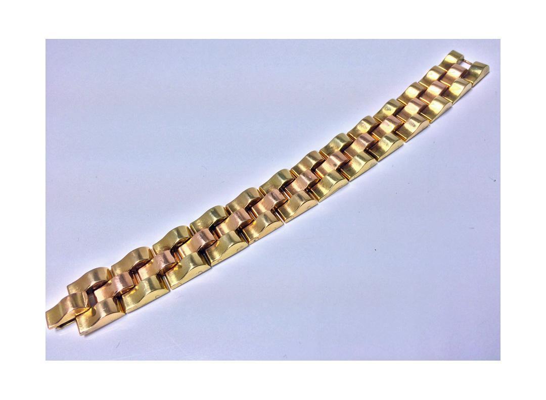 Retro 18K Gold  Bracelet, C.1940