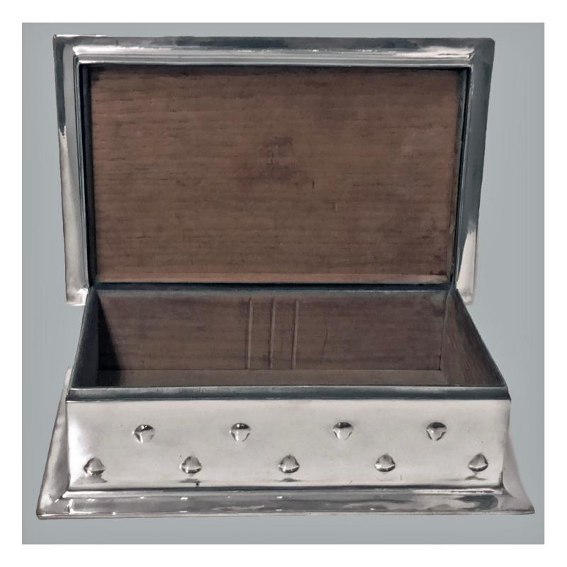 Large Liberty Arts and Crafts Humidor Box, designed by Archibald Knox, C.1905