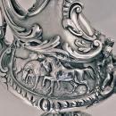 Outstanding Silver equine related Wine Ewer Jug, Edward & John Barnard, London, 1864