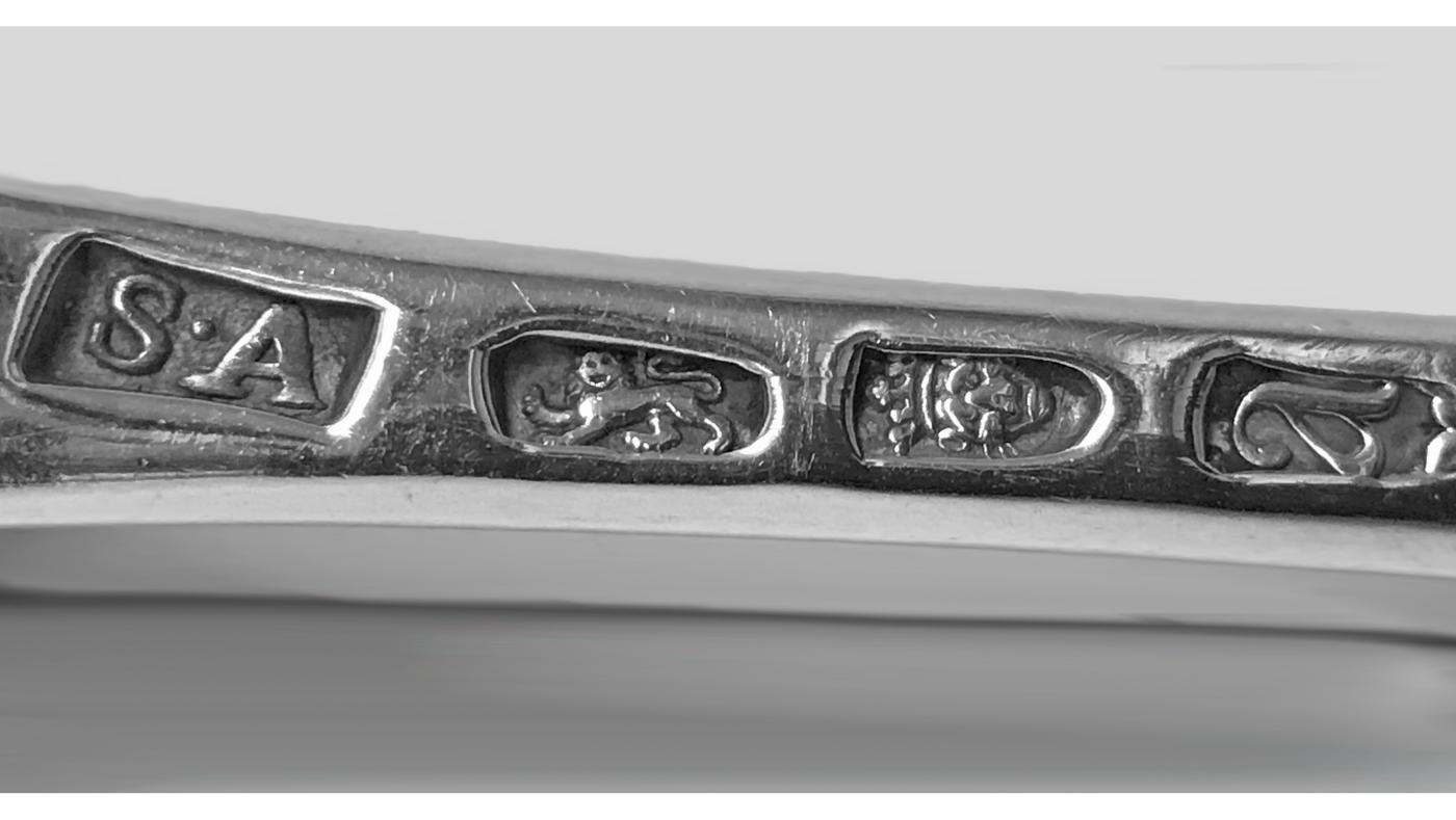 18th century Georgian Silver Basting Spoon, London 1776 Stephen Adams