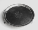 Georgian Silver Salver, London 1785 by Elizabeth Jones