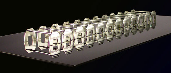 12 Art Deco French Knife Rests, C.1920
