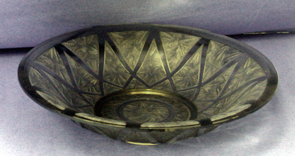 Christofle Verlys  Art Deco centerpiece, France C.1925