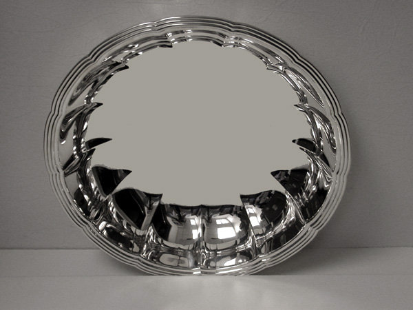 Tiffany Sterling large Dish, New York C.1940