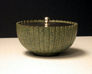Arne Bang Sterling Ceramic Bowl Denmark C.1940