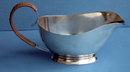 Cohr Danish Silver Sauceboat C.1937