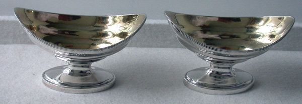 Georgian Silver Salts, London 1794