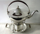 Old Sheffield Plate Kettle, England C.1798 by Watson & Bradbury