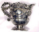 Scottish Silver Cream Jug Edinburgh 1891