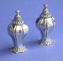 Silver Novelty Castors, London 1834 W.H.