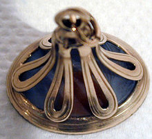 Georgian Agate Gold Seal Fob,England C. 1800.
