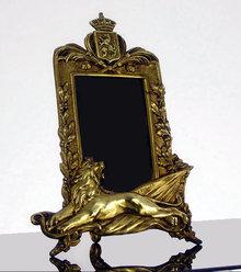 Art Nouveau Belgian Photograph Frame