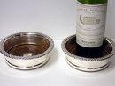 Old Sheffield Plate Wine Coasters, English, C.1810