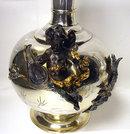 WMF Mixed Metal Vases