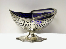 Antique Silver Basket London 1906 Haseler