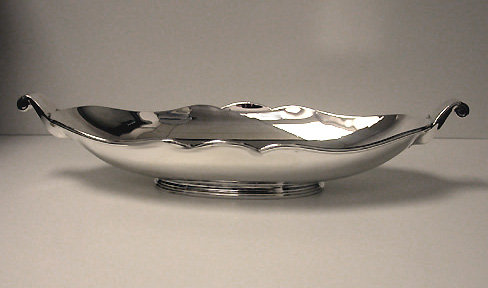Silver Jardinière Centerpiece Bowl, Belgium C.1940, Delheid Frères.