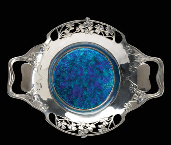 Liberty & Co Enamel Dish, Liberty & Co, English C.1903.