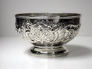 Antique Irish Silver Bowl Dublin 1856 J. Smyth