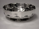 Fine Arts & Crafts Silver Bowl, London 1911, William Comyns