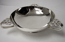 Arts Crafts Sterling Silver hammered Bowl, London 1901 Charles Edwards.