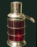 Asprey  & Co Silver Plate Cocktail Shaker in the form of a Lantern, C.1940.