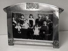 WMF Jugendstil Art Nouveau Secessionist Photograph Frame, Germany C.1905.