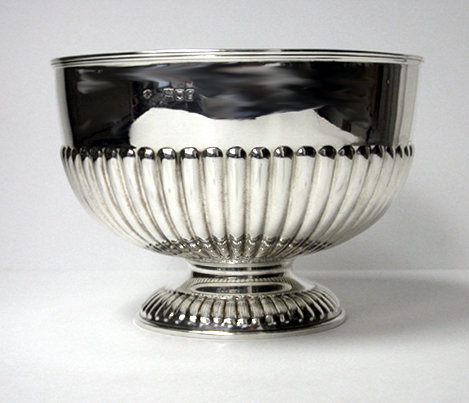 Antique Silver Bowl, London 1902 Wm Hutton & Sons