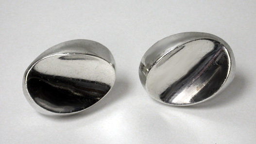 Antonio Pineda Silver Cufflinks 970 standard, C.1960.