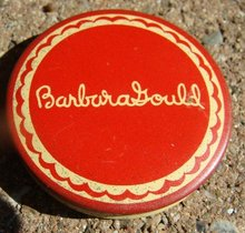 BARBARA GOULD FACE POWDER TIN-SAMPLE SIZE