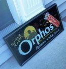 SCARCE ORPHOS TOOTH PASTE SUBWAY SIGN (DENTAL)
