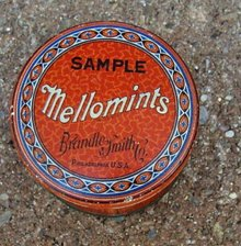 MELLOMINTS SAMPLE CANDY TIN