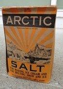 SCARCE ARTIC SALT BOX-FULL;GRAPHIC-POLAR BEAR IMAGES