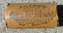 CHASE'S BLOOD TABLETS CONTAINER-LAXATIVE;UNOPENED
