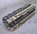 CANDY BOX - CHOCOLATE PEPPERMINT CANDY BOX-5c