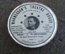 WARRESSON'S THEATRE ROUGH TIN