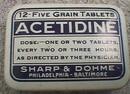 ACETIDINE TIN