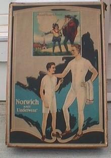 NORWICH KNIT UNDERWEAR BOX/CONTENTS