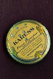 KARESS FACE POWDER TIN