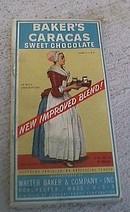 BAKER'S CARACAS SWEET CHOCOLATE BAR