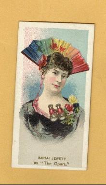 DUKE CIGARETTES TOBACCO INSERT CARD;FANCY DRESS BALL COSTUMES