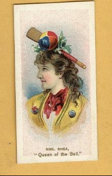 ANTIQUE DUKE CIGARETTES TOBACCO INSERT CARD -MME. RHEA