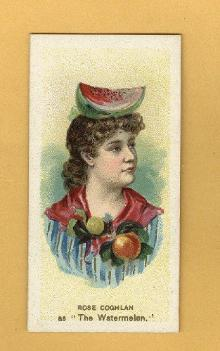 ANTIQUE DUKE CIGARETTES TOBACCO INSERT CARD -ROSE  COGHLAN