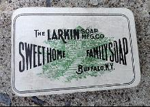 LARKIN SOAP MFG CO SWEET HOME FAMILY SOAP PIN HOLDER