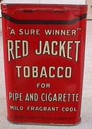 POCKET TIN - RED JACKET TOBACCO