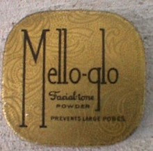 FACE POWDER TIN - MELLO-GLO FACIAL TONE POWDER
