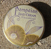 POMPEIAN DAY CREAM TIN