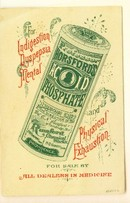 HORSFORD ACID PHOSPHATE PAMPHLET (RUMFORD)-SOMBER LITTLE BOY