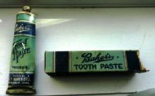 SCARCE BAKER'S TOOTH PASTE WITH BOX(DENTAL)